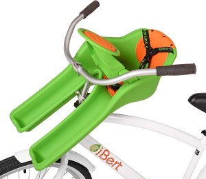 ibert front mounted bike seat