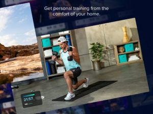 iFit training app, exercise bikes
