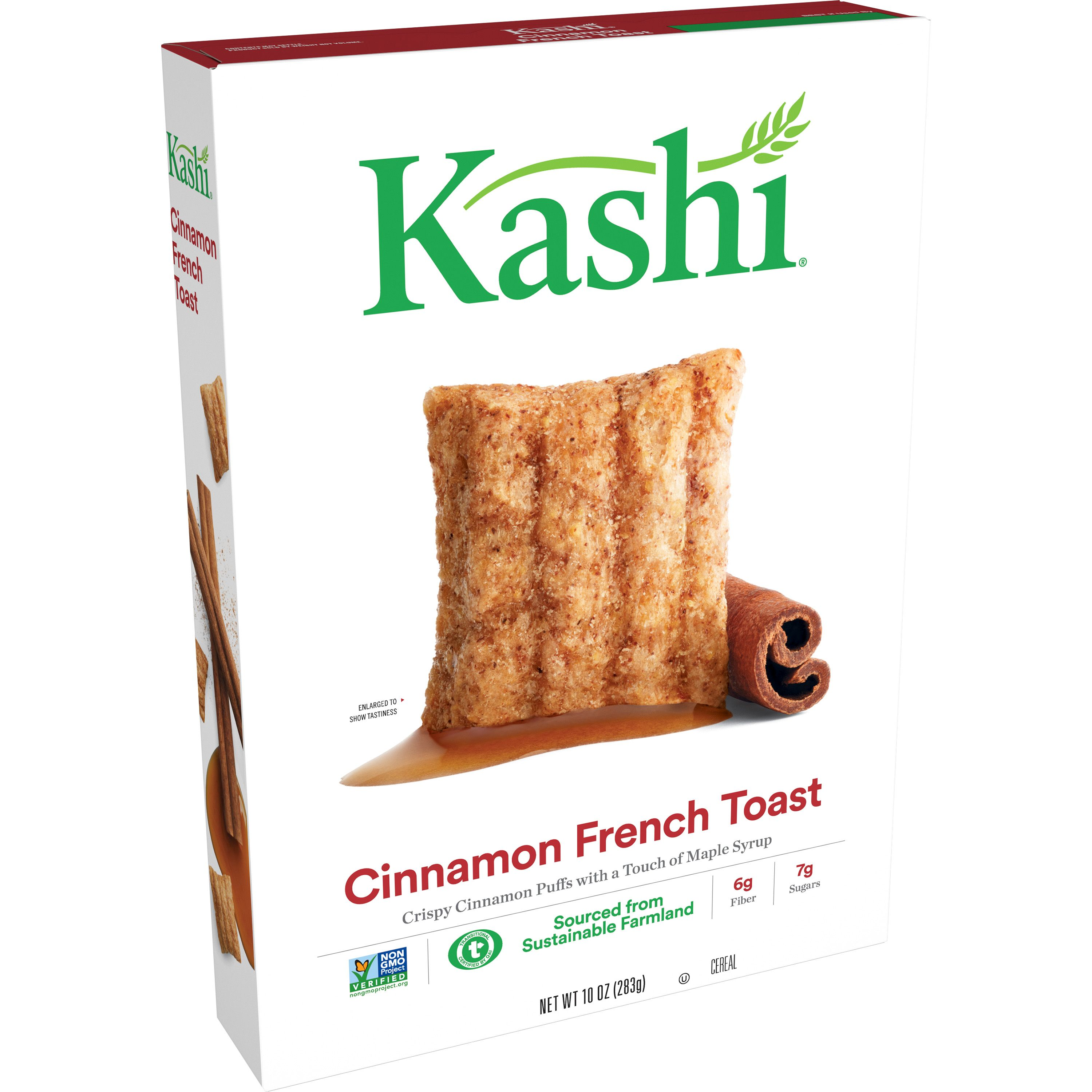 kashi cinnamon french toast, healthy breakfast cereal