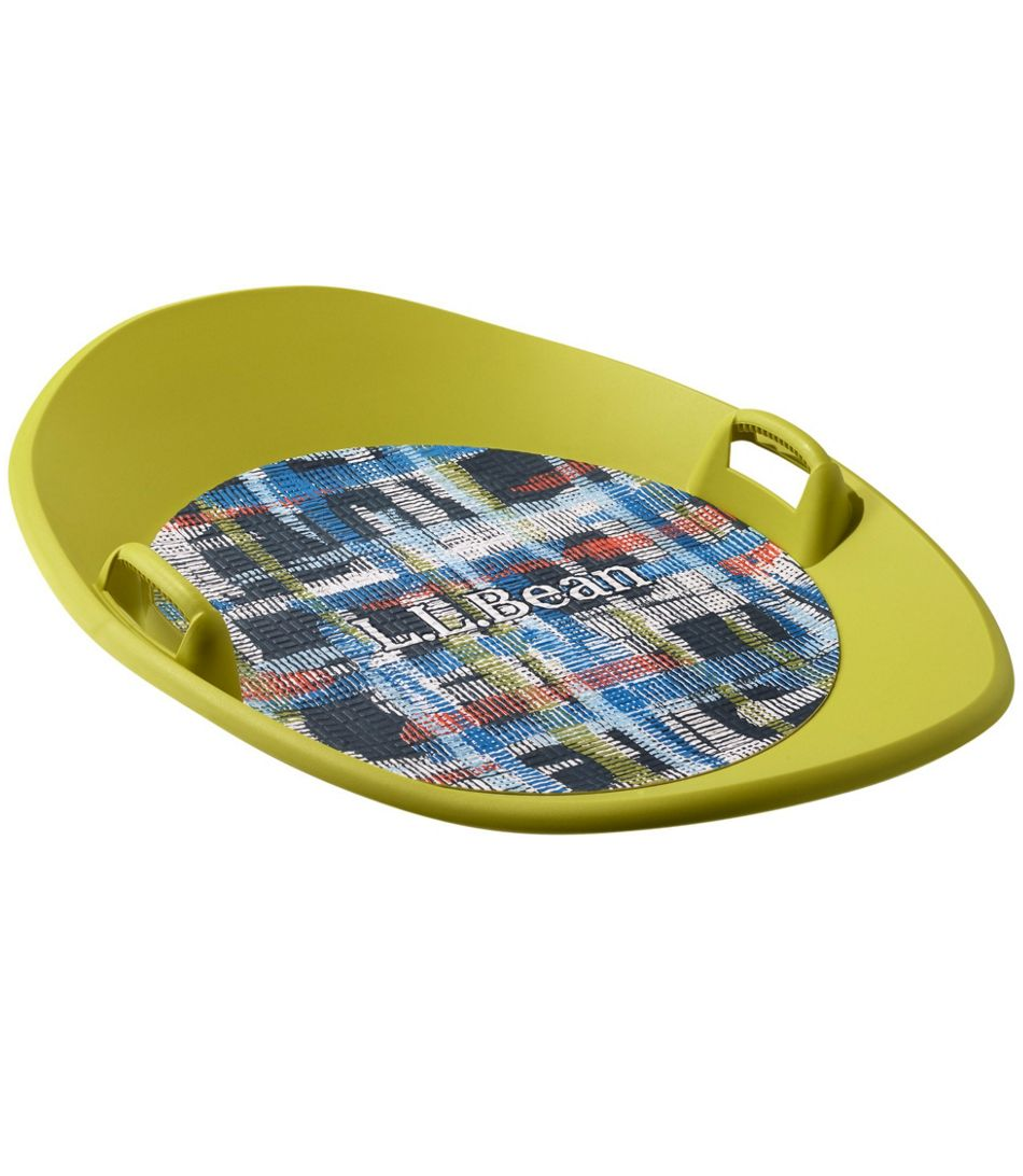 llbean sonic saucer snow sleds