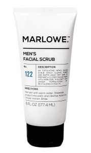 marlowe facial scrub, best facial scrubs