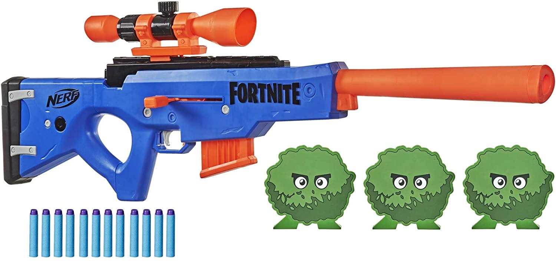 nerf fortnite sniper blaster, best nerf guns