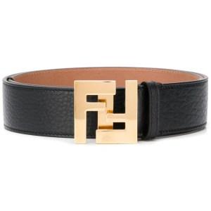 Fendi Logo Buckle Belt