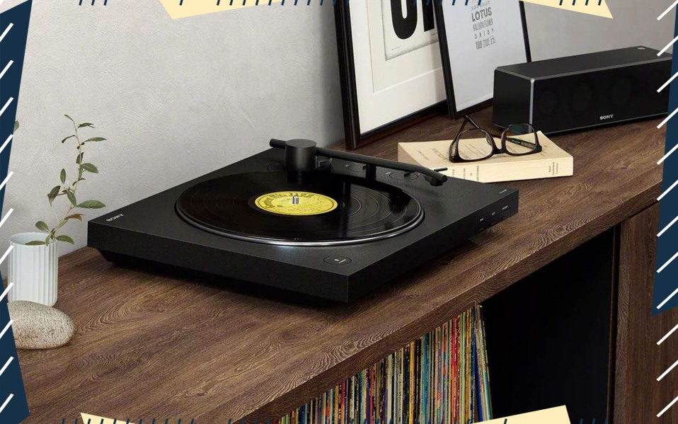 Sony PS-LX310BT Bluetooth Record Player at
