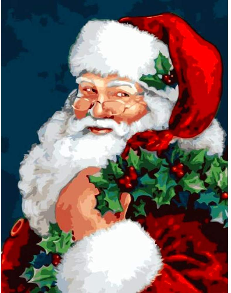 paint by numbers santa claus kit, best Christmas gifts