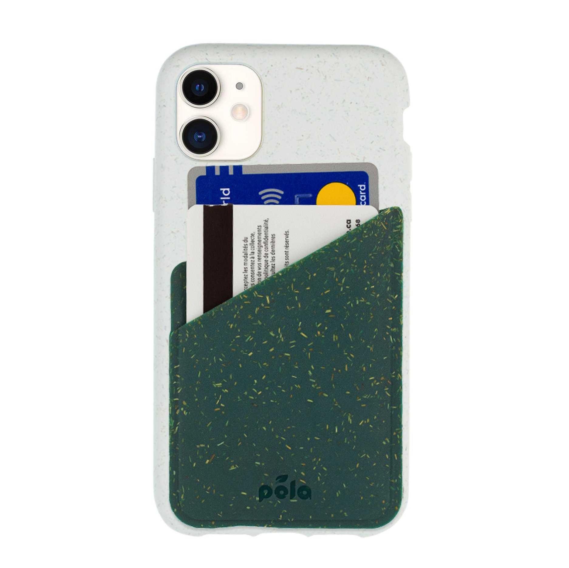 Pela Case Green Phone Case Card Holder