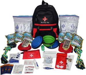 pet evac pack survival kit, emergency kits