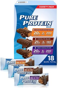 pure protein bars, energy bars, best energy bars