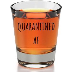 Quarantined AF Shot Glass