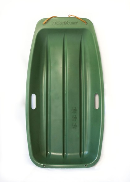 recycled plastic snow sleds