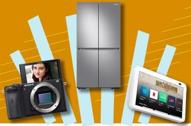 camera, fridge, and Amazon Alexa
