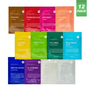 DERMAL sheet face mask, best valentine's day gifts