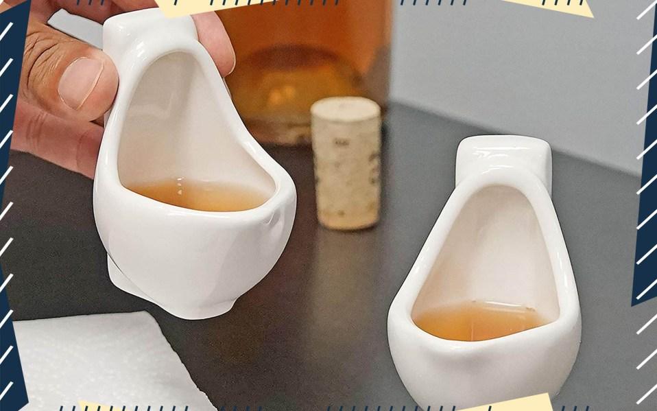 Fairly Odd Novelties Urinal Shot Glasses