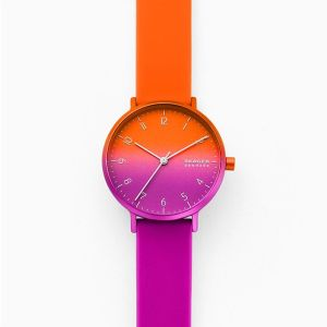 Aaren Ombre silicone watch, gifts for her