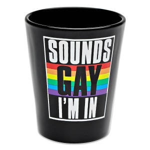 Sounds Gay I'm In Shot Glass