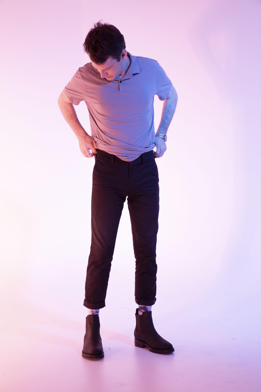 man pulling up pants, man awards 2020