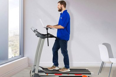get moving while you work from home with one of these treadmill desks