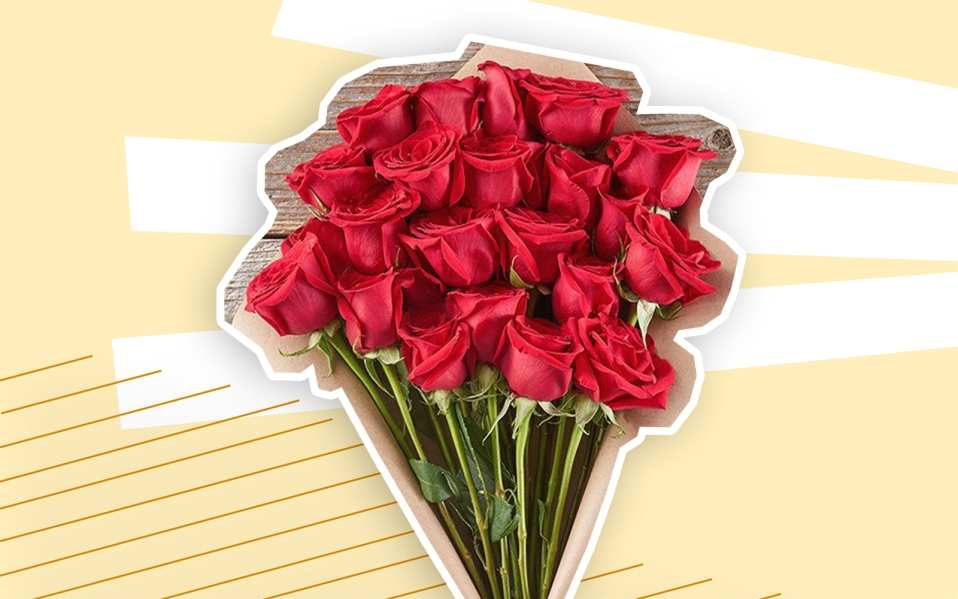 best valentine's day gifts, a bouquet