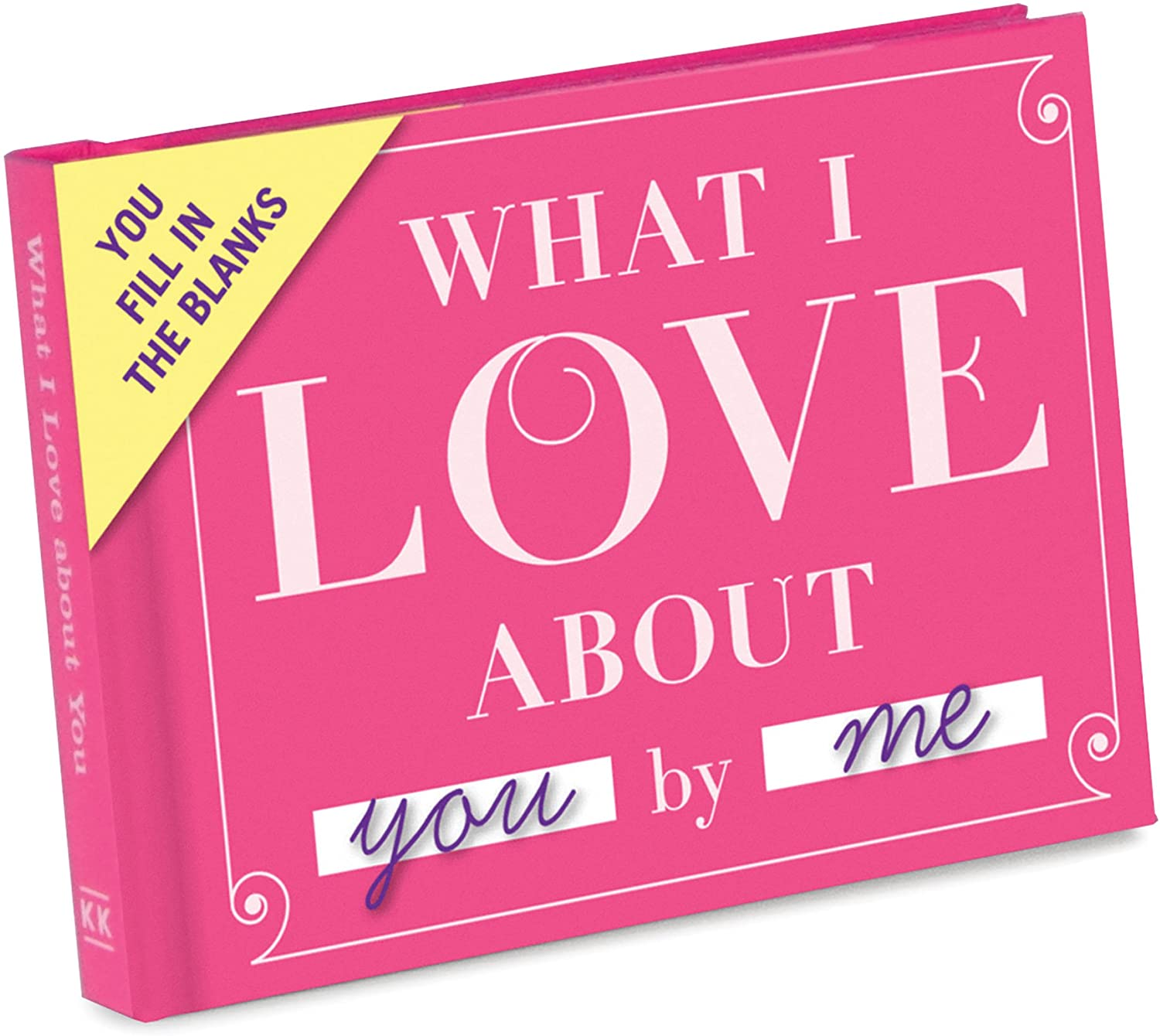 what I love about you journal, gifts for wife