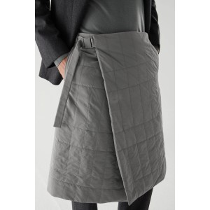 COS Recycled Polyamide Quilted Kilt