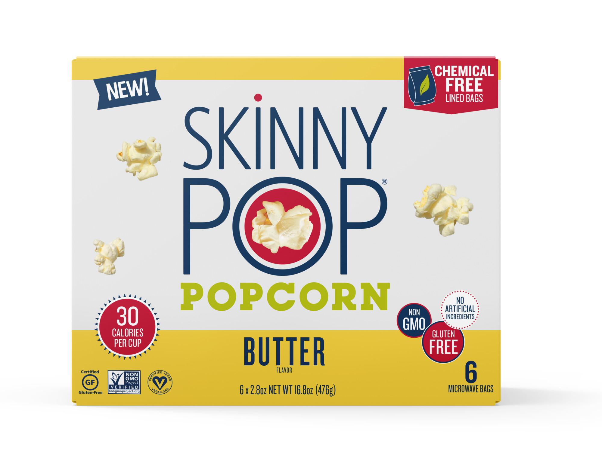 best Microwave Popcorn brands - SkinnyPop Popcorn Butter