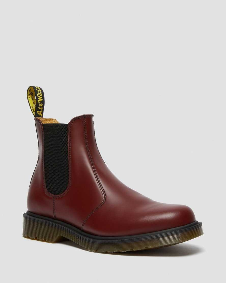 Dr Martens Cherry Red leather chelsea boot