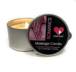 Love Play Romance Massage Candle, best wax play candles