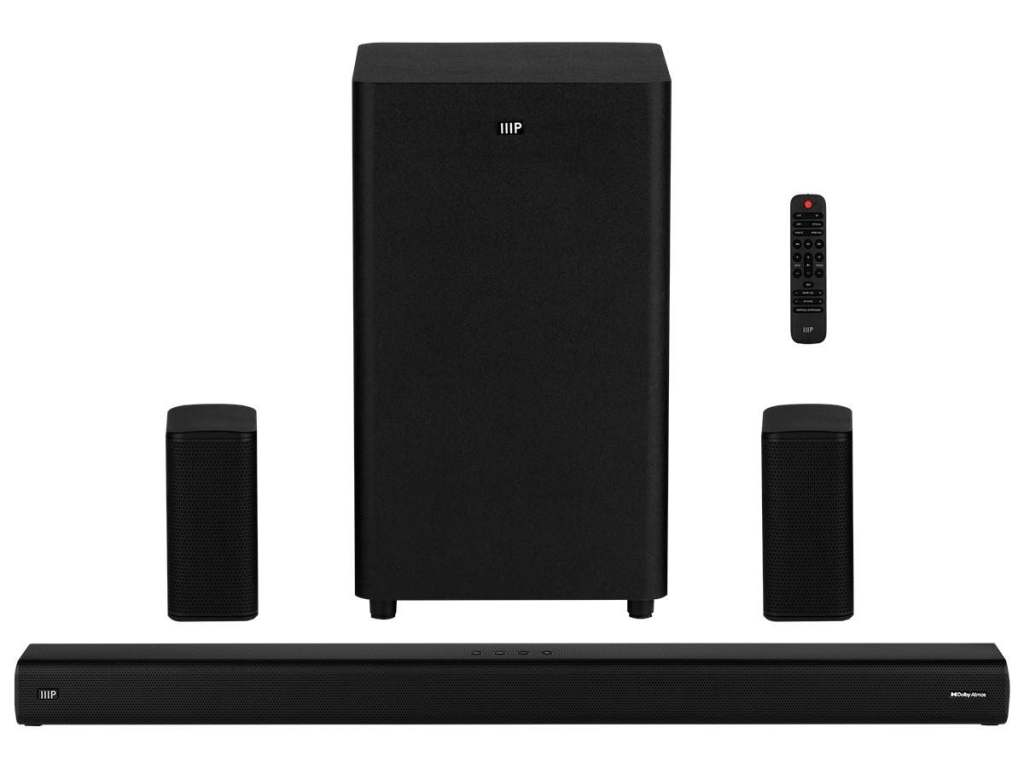 Monoprice SB-600 Dolby Atmos Soundbar