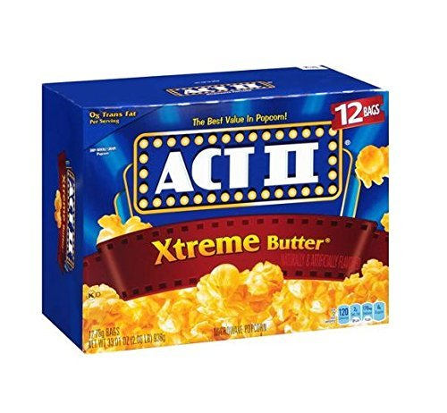 best Microwave Popcorn brands - Act II Xtreme Butter