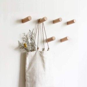 HomeDo Natural Wooden Coat Hooks