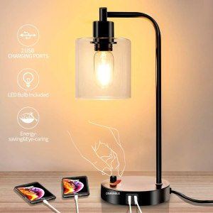 Nintiue Industrial Table Lamp