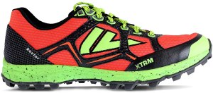 VJ XTRM OCR winter trail running shoes, exercising outdoors in the winter