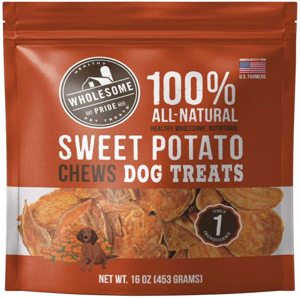 Wholesome Pride Sweet Potato Treat