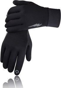 SIMARI winter running gloves, exercising outdoors in the winter