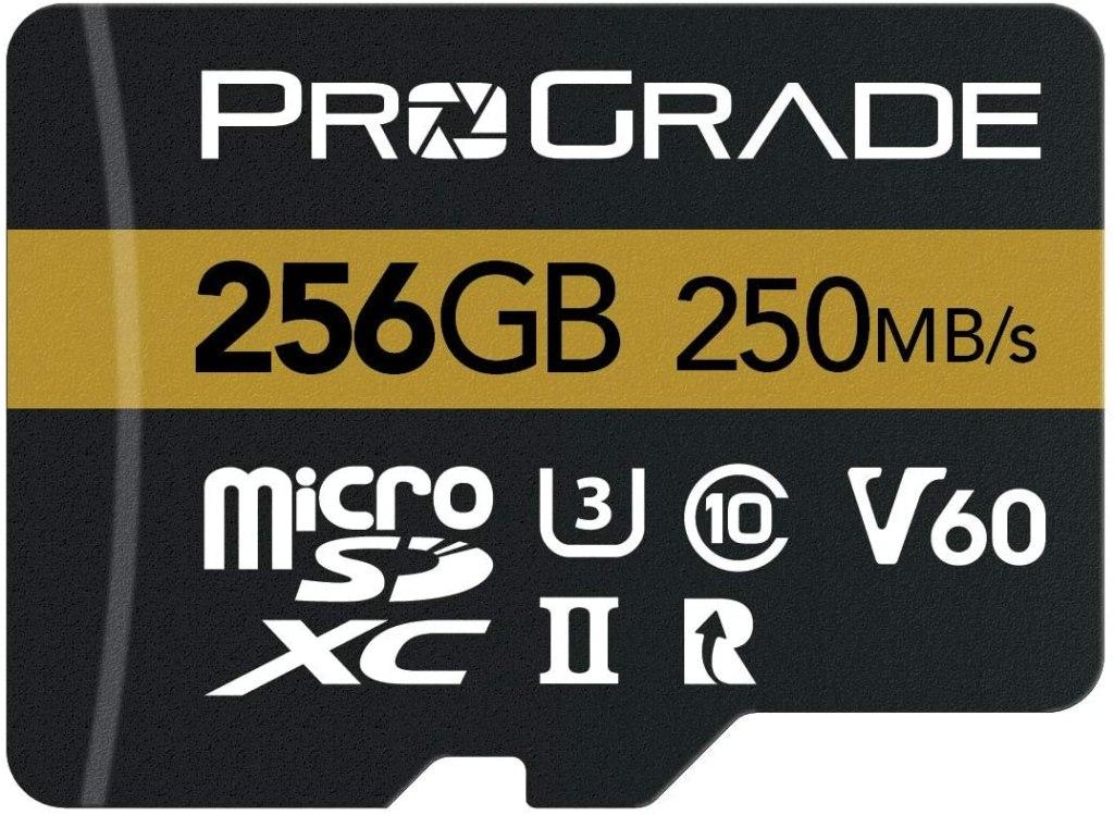 256 GB ProGrade MicroSD Card