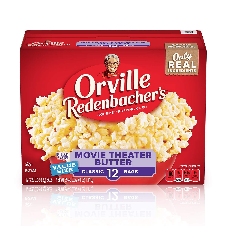 best Microwave Popcorn brands - Orville Redenbacher's