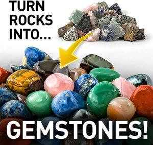 National Geographic's Hobby Rock Tumbler Kit Rocks