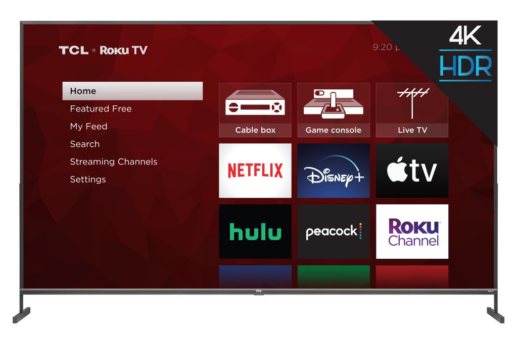 TCL 85R435 4-Series 85-Inch TV