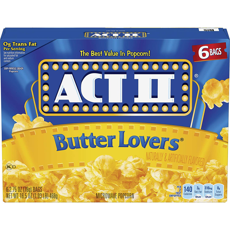 best Microwave Popcorn brands - Act II Movie Butter Lovers