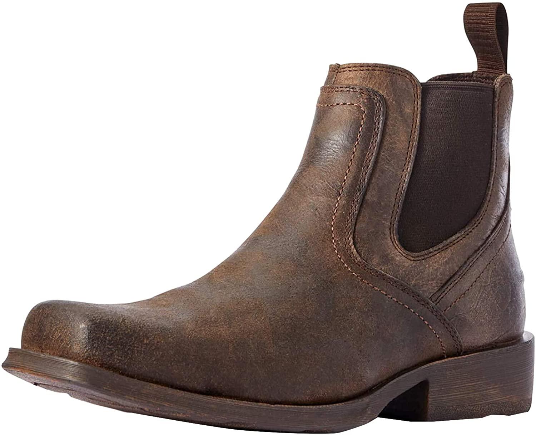 ARIAT-Mens-Midtown-Rambler-Casual-Boot in Brown