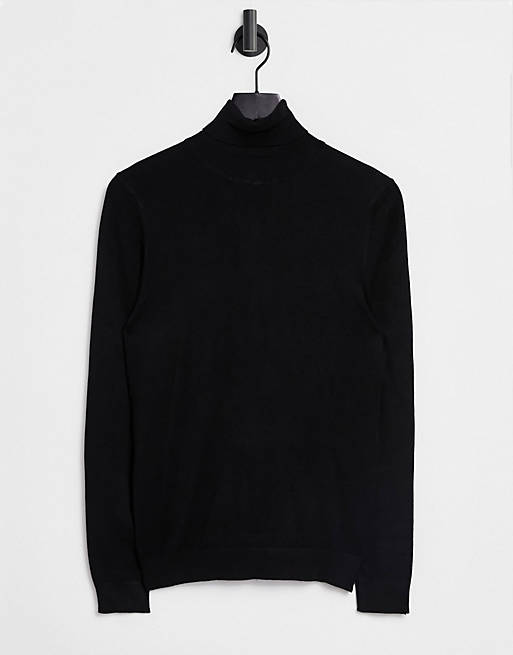 Asos River Island roll neck sweater, best mens sweaters