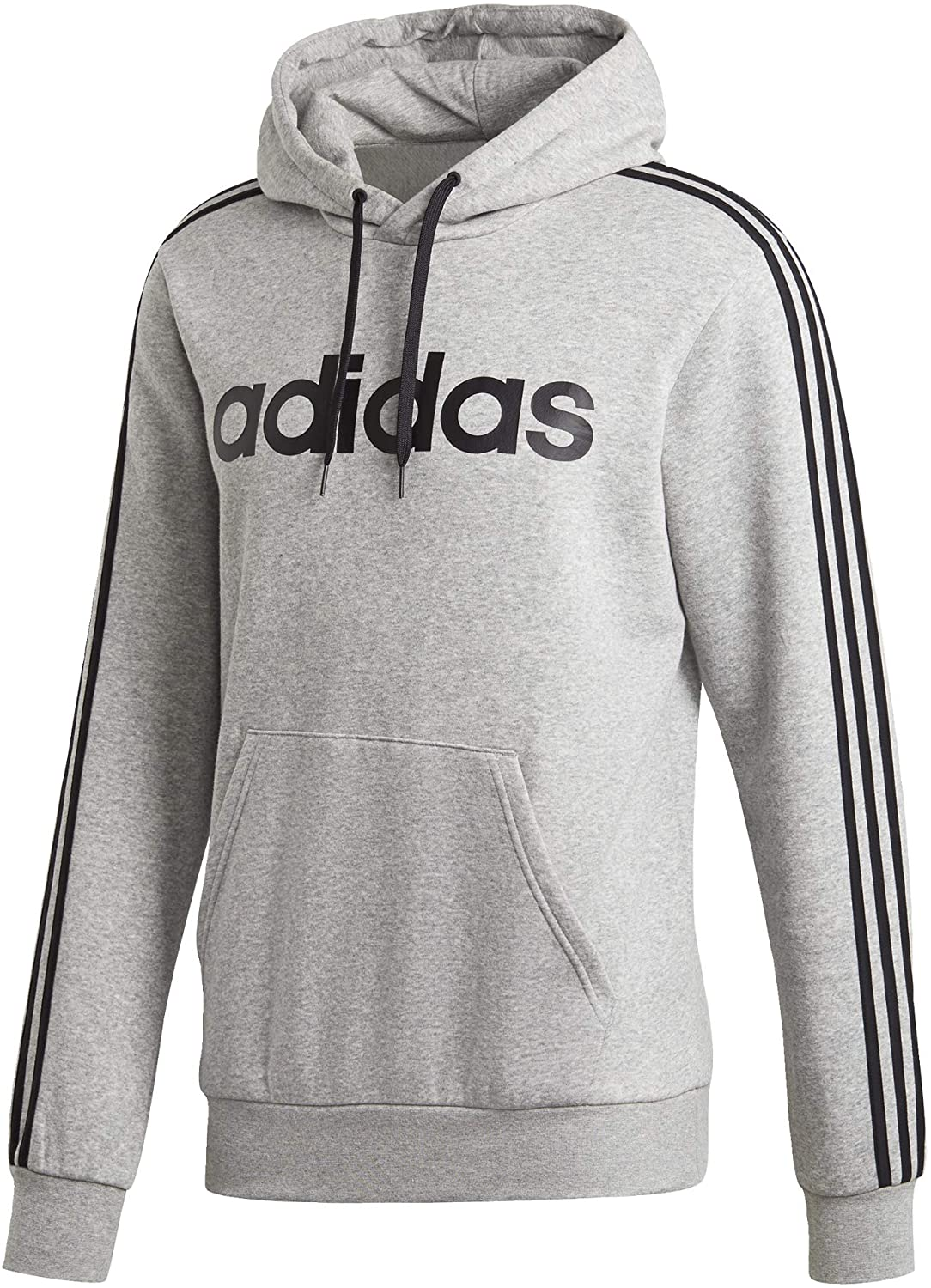 Adidas Men's Essentials 3 stripes pullover hoodie