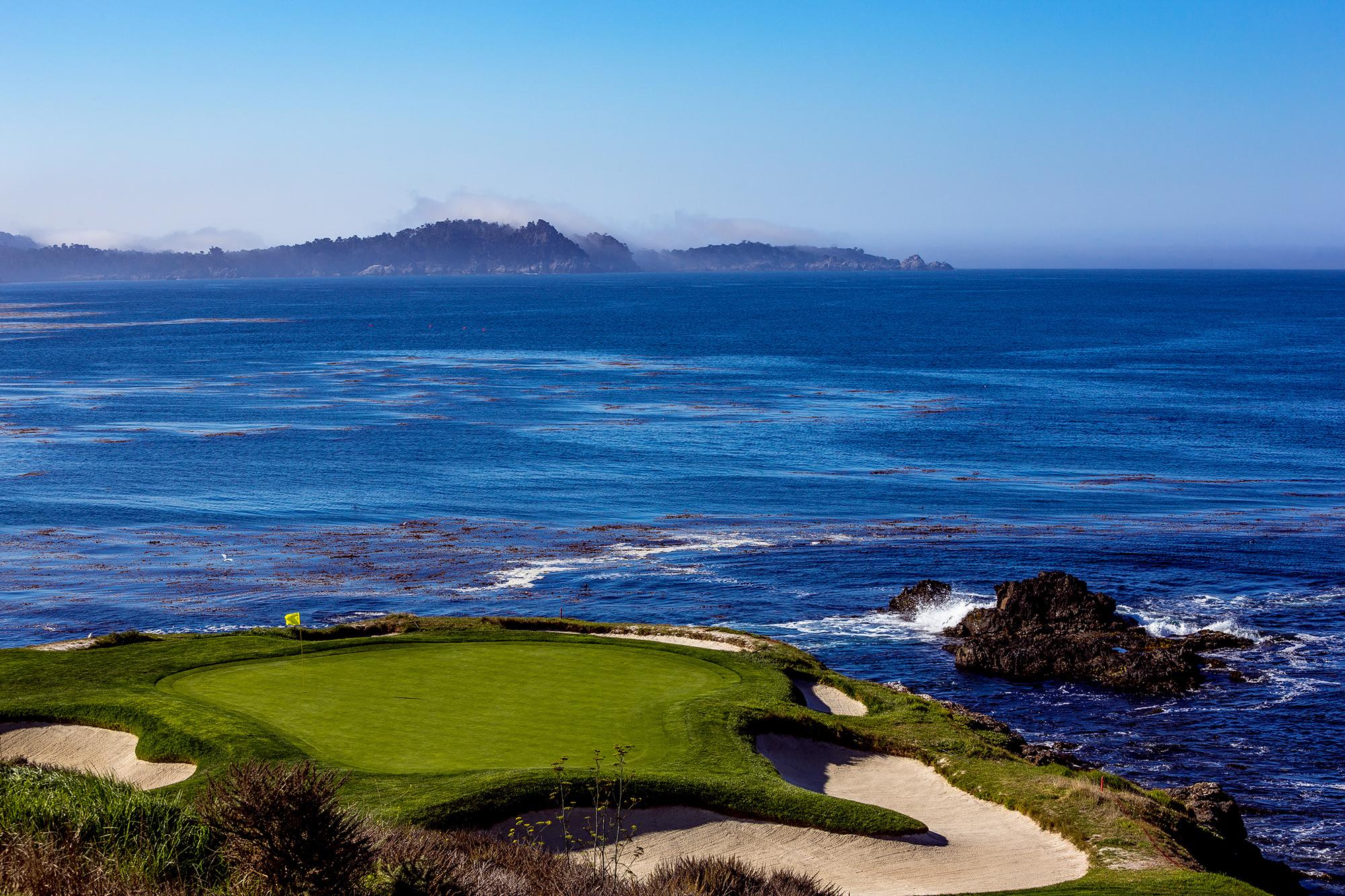 pebble beach golf course, best pga golf courses