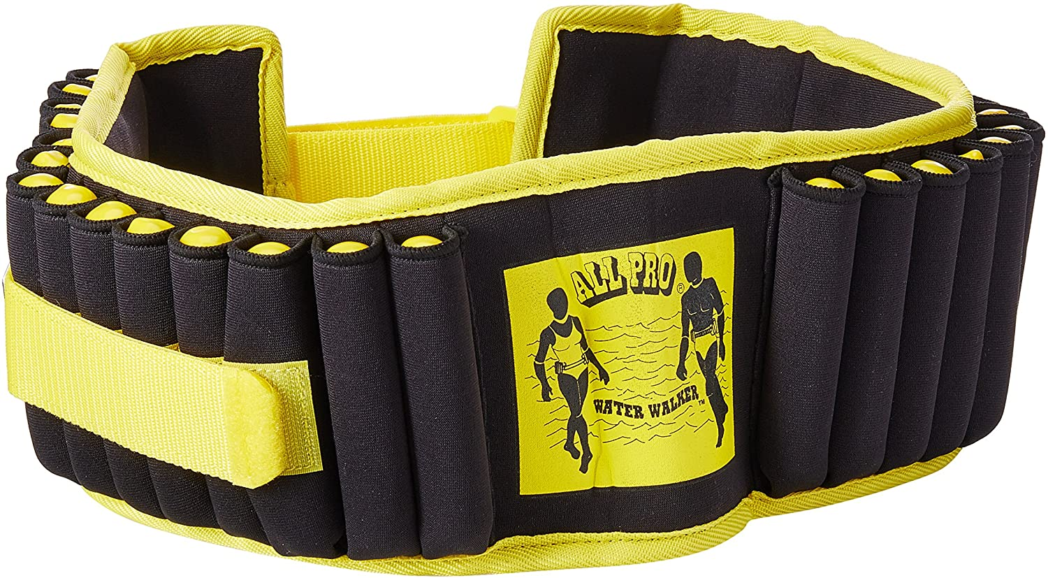 Yellow and black All-Pro Aquatic Exercise Belt