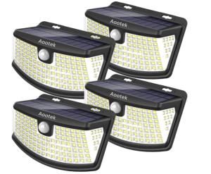 Aootek New Solar Lights smart outdoor lighting