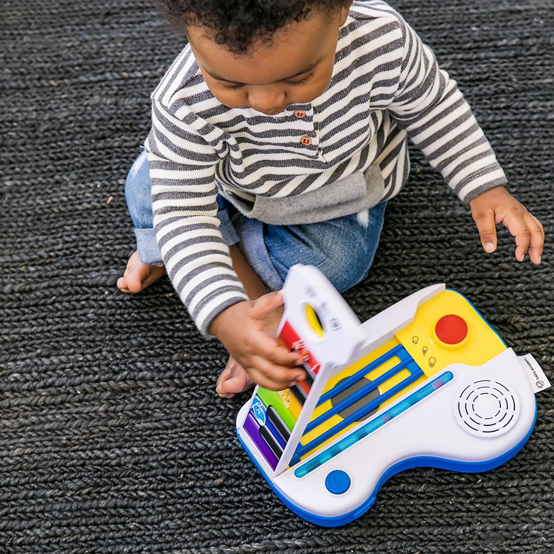 Baby-Einstein-Flip-Riff-Keytar-Musical-Guitar-and-Piano-Toddler-Toy