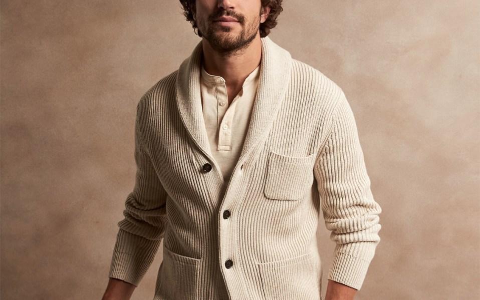 Banana-Republic-SUPIMA-Shawl-Collar-Cardigan-Sweater