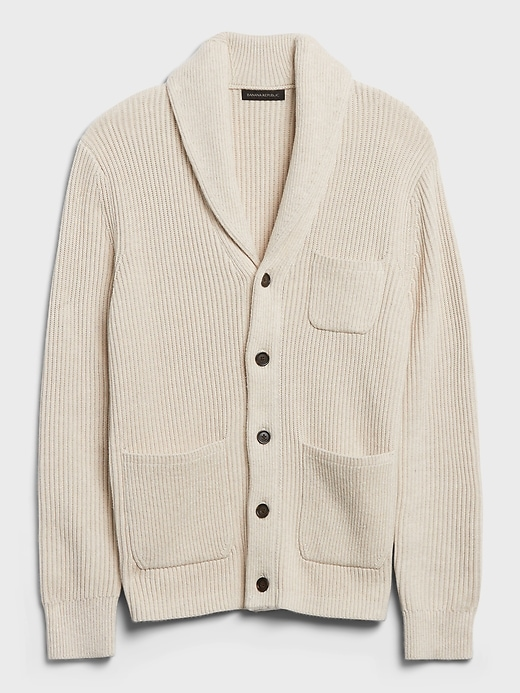 Banana Republic shawl neck sweater, best sweaters