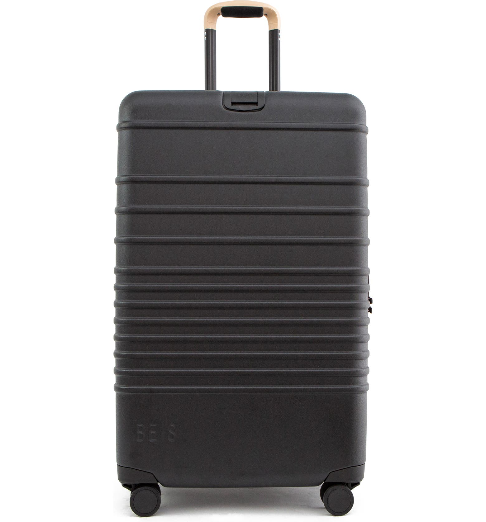 Black Beis 21-Inch Spinner Rolling Suitcase