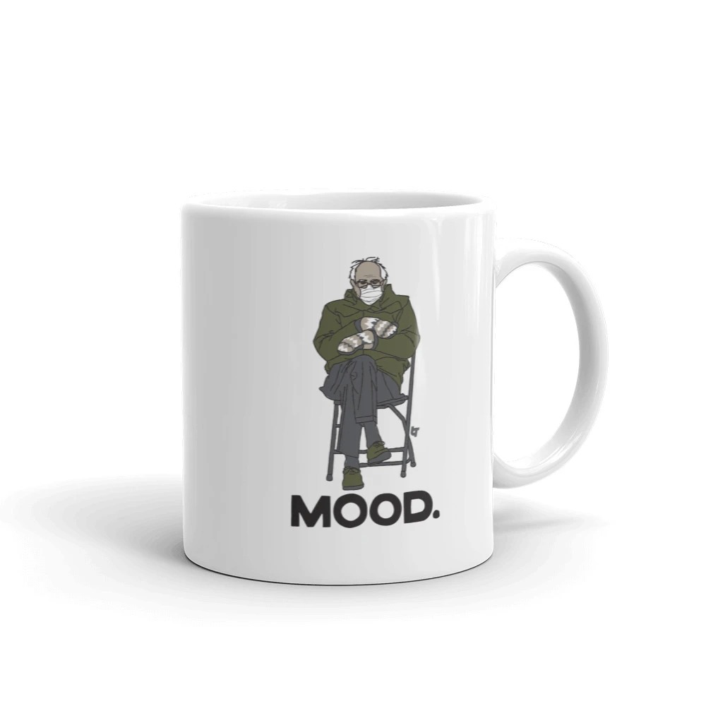 Bernie Mood Funny Mug